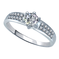 Silver Ring Hd PNG Image