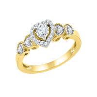 Heart Ring Picture PNG Image