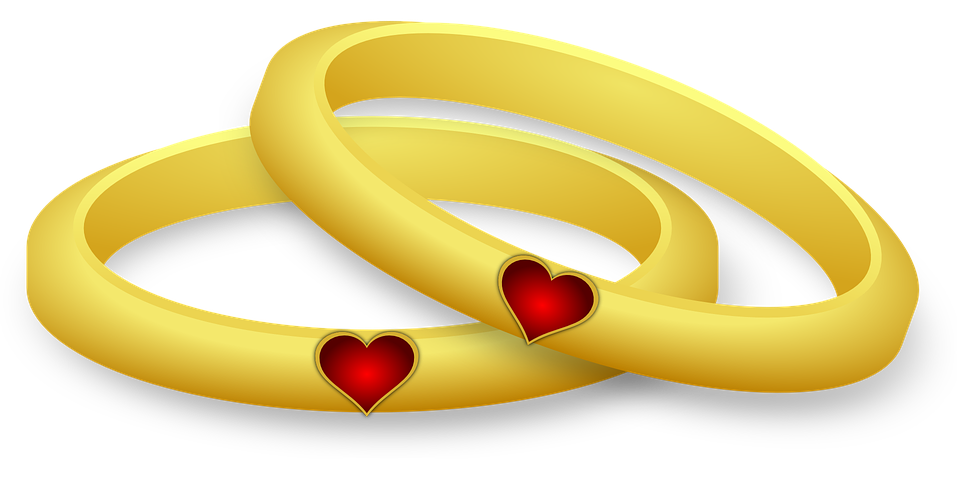 Heart Ring PNG Image
