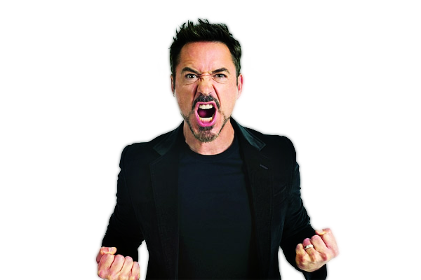 Robert Downey Jr Transparent Image PNG Image