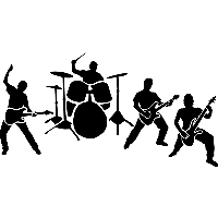 download rock band free png photo images and clipart freepngimg rh freepngimg com rock band stage clipart rock band clipart black and white
