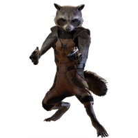Rocket Raccoon File PNG Image