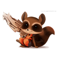Rocket Raccoon Hd PNG Image