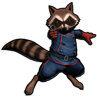 Rocket Raccoon Photo PNG Image