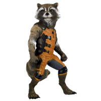 Rocket Raccoon Image PNG Image