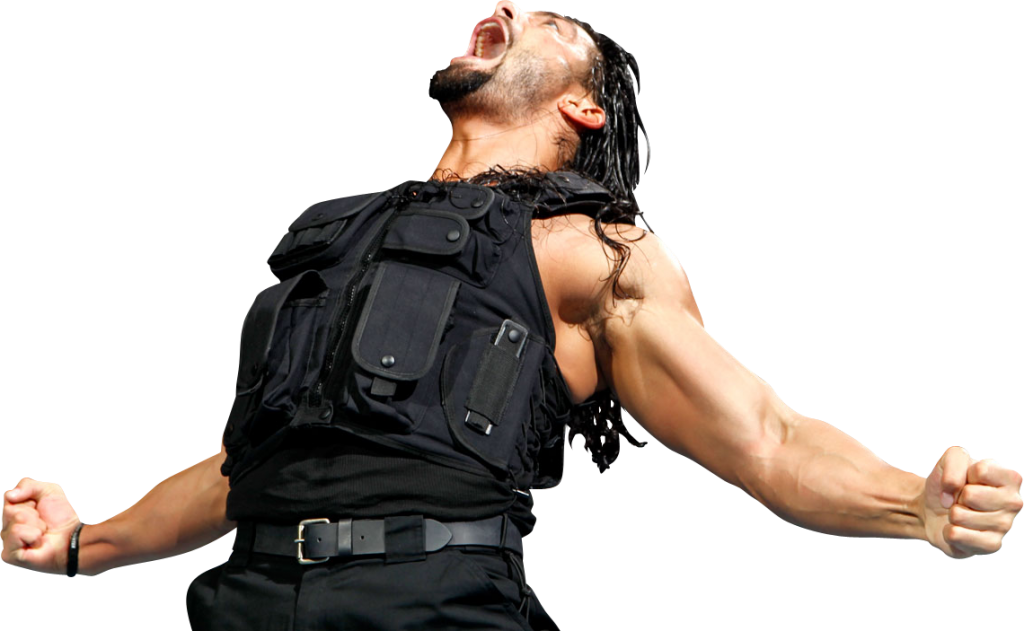 Roman Reigns Angry Png PNG Image