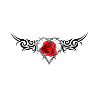 Gothic Rose File PNG Image