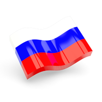 Russia Flag Transparent PNG Image