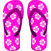 Beach Sandal Transparent PNG Image