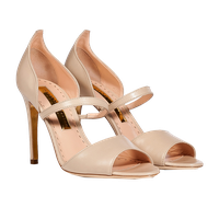 Ladies Sandal Transparent Background PNG Image