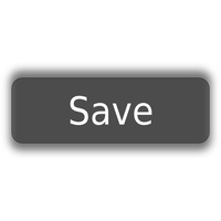 Save Button Transparent Image PNG Image