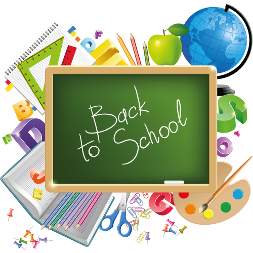 School Transparent Background PNG Image