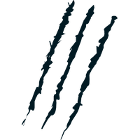 Transparent Claw Scratch Marks PNG Image