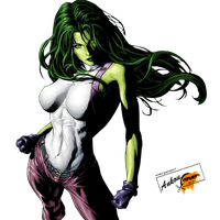 She Hulk Photo PNG Image