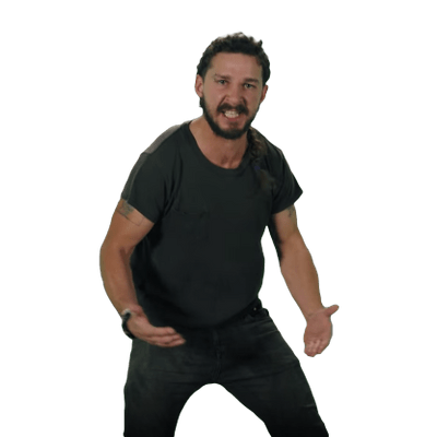 Shia Labeouf Transparent Image PNG Image