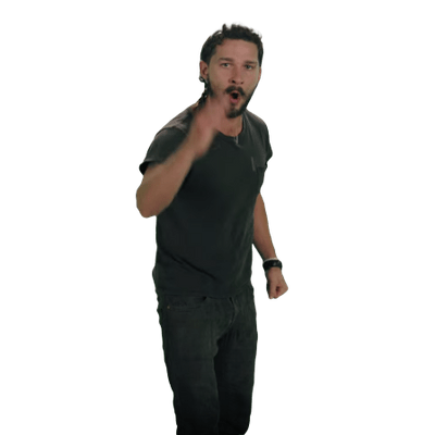 Shia Labeouf Transparent Background PNG Image