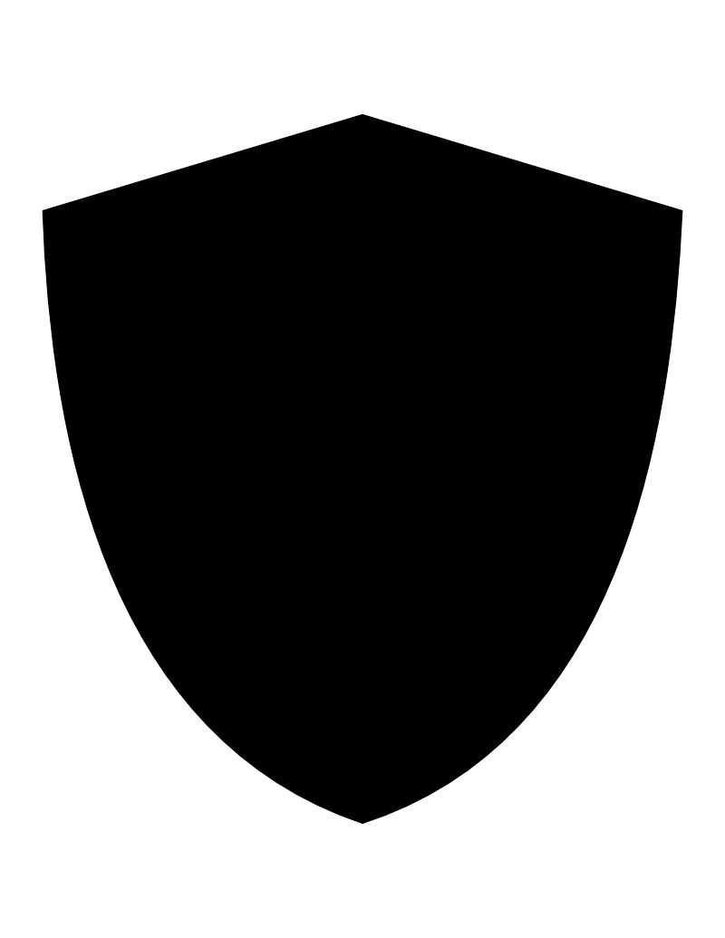 Black Siluet Shield Png Image Picture Download PNG Image
