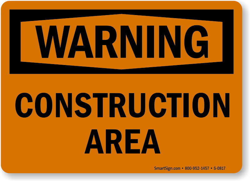 Construction Sign Free Download PNG HD PNG Image