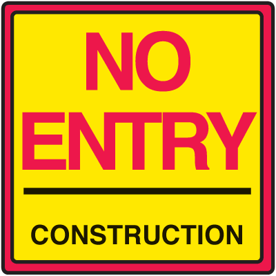 Construction Sign Free PNG HQ PNG Image