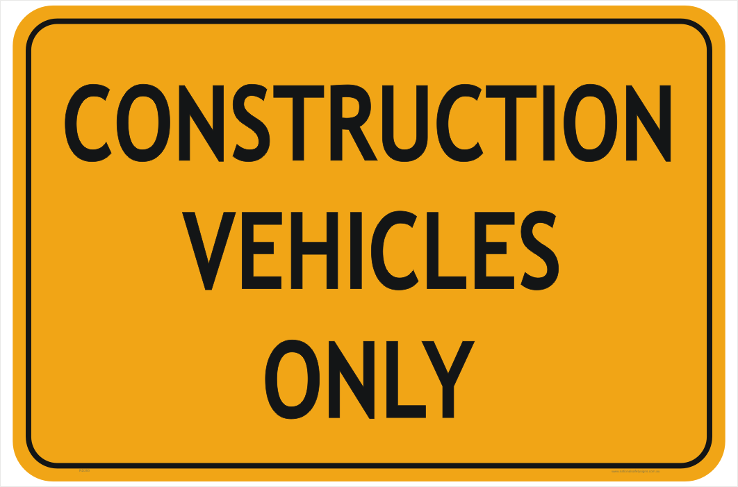 Construction Sign PNG File HD PNG Image
