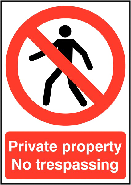 No Trespassing Sign Photos Free Transparent Image HD PNG Image