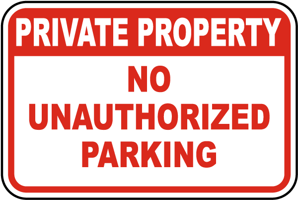 Unauthorized Sign Free Transparent Image HQ PNG Image