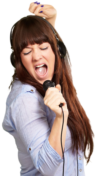 Singing Picture PNG Image