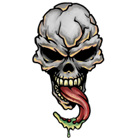 Skull Tattoo Transparent PNG Image