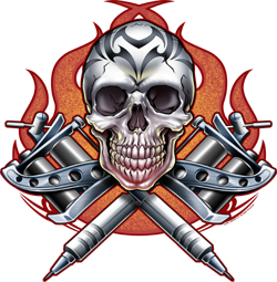 Skull Tattoo Png Image PNG Image