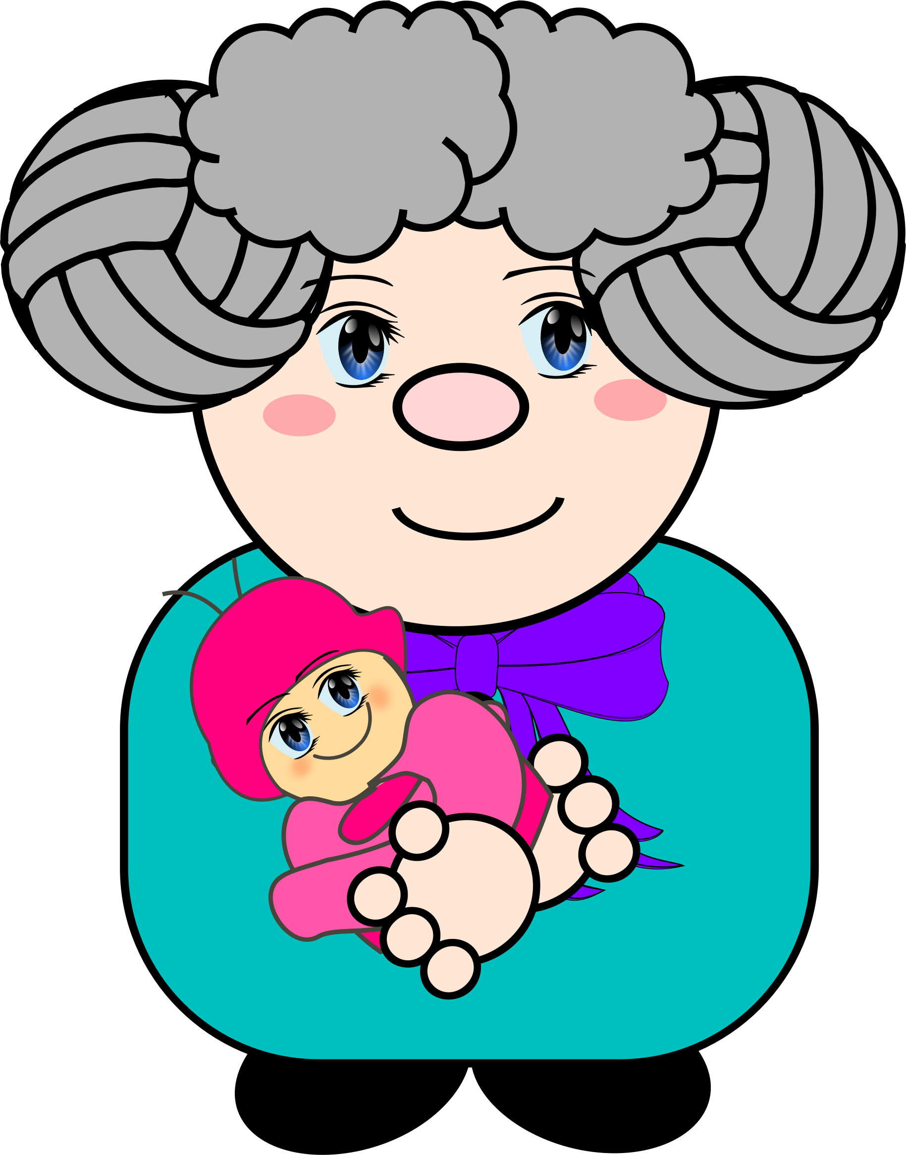 Grandmother PNG File HD PNG Image