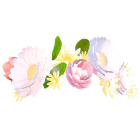 Snapchat Flower Crown File PNG Image