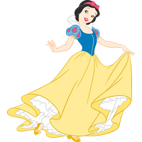 Snow White Transparent Picture PNG Image
