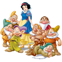 Snow White Transparent PNG Image