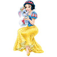 Snow White Transparent Background PNG Image