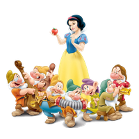 Snow White Transparent Image PNG Image