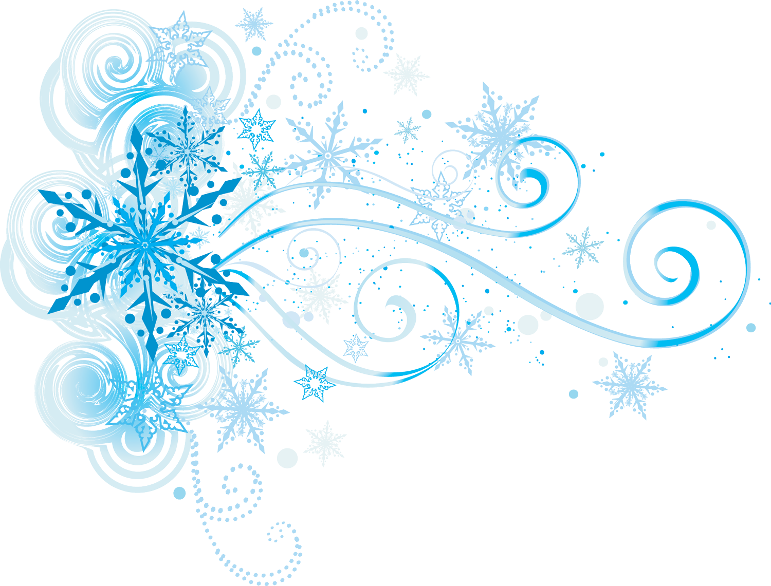 Frozen Snowflake Transparent Background PNG Image