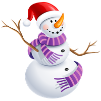 Download Snowman Clipart Png