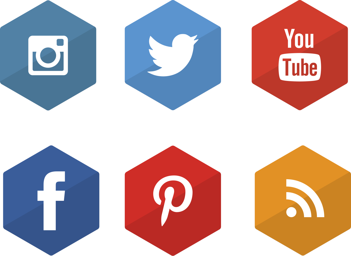 Information Business Icons Media Social Marketing PNG Image