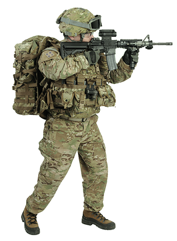 Soldier Transparent PNG Image