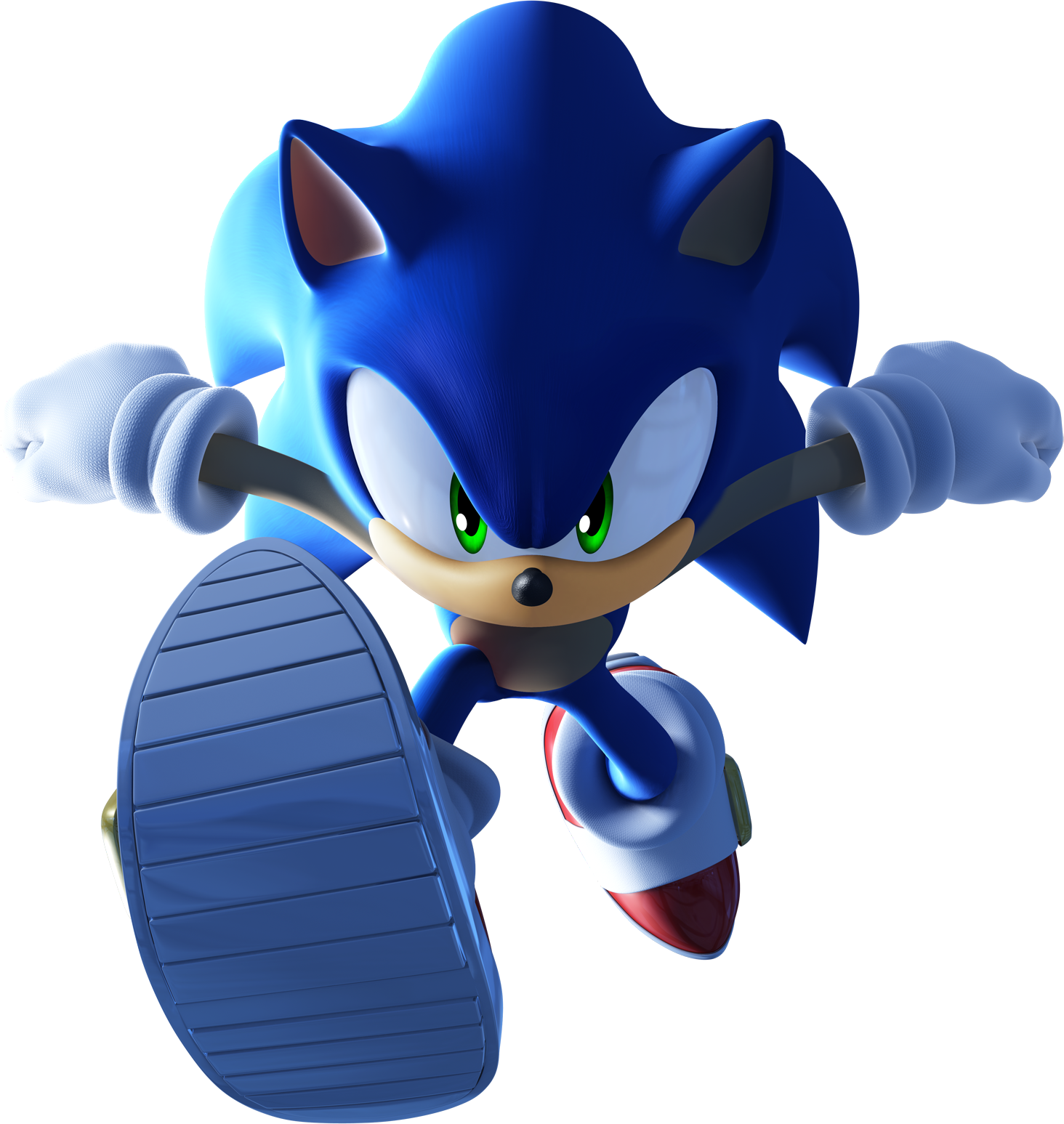 Blue Sonic Toy Electric Unleashed The Hedgehog PNG Image