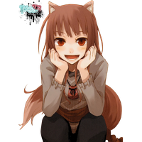 Spice And Wolf PNG Image