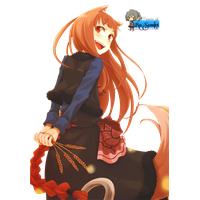 Spice And Wolf Hd PNG Image