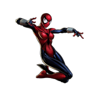 Spider Woman File PNG Image
