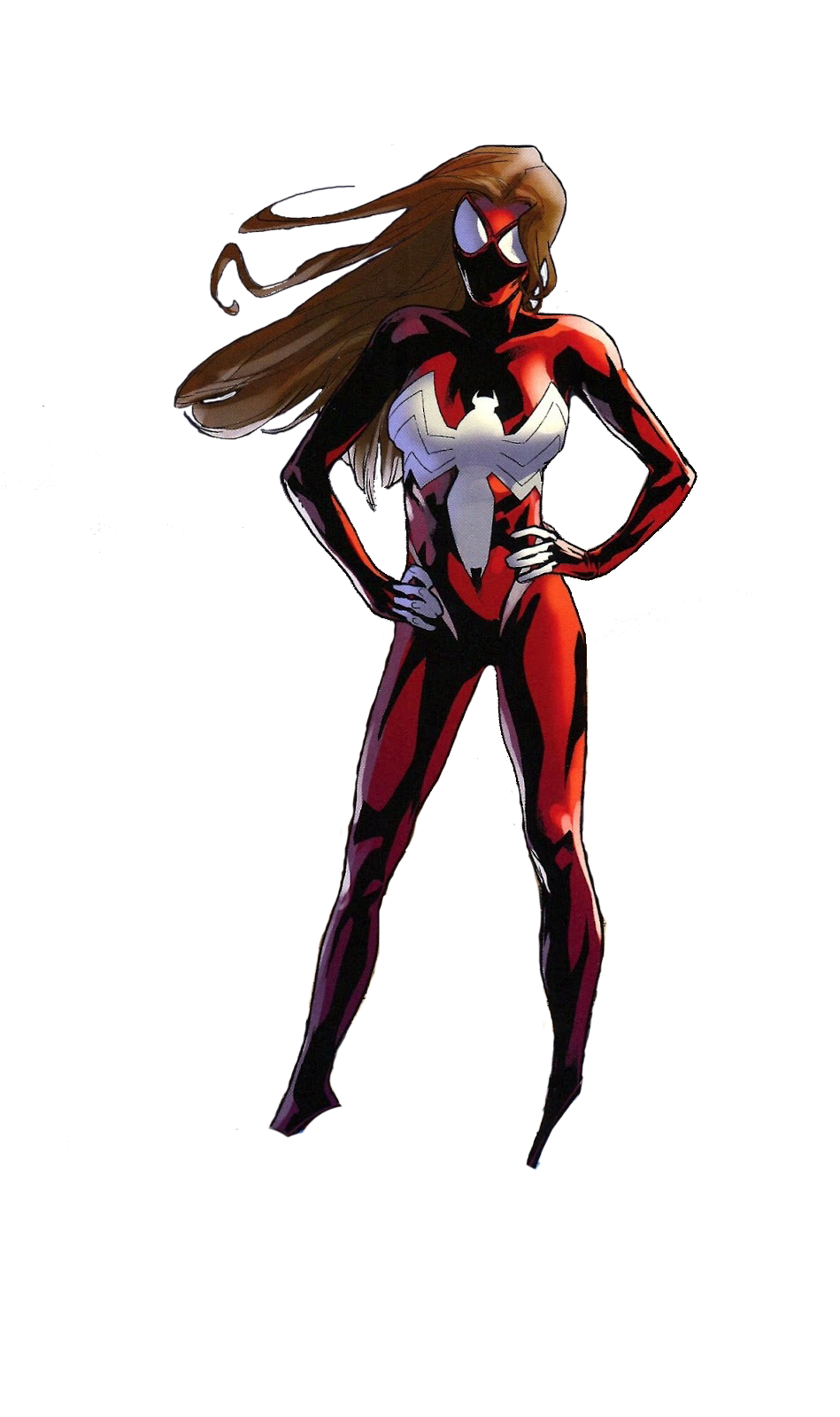 Spider Woman Picture PNG Image