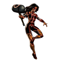 Spider Woman Clipart PNG Image