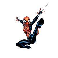 Spider Woman Transparent Image PNG Image