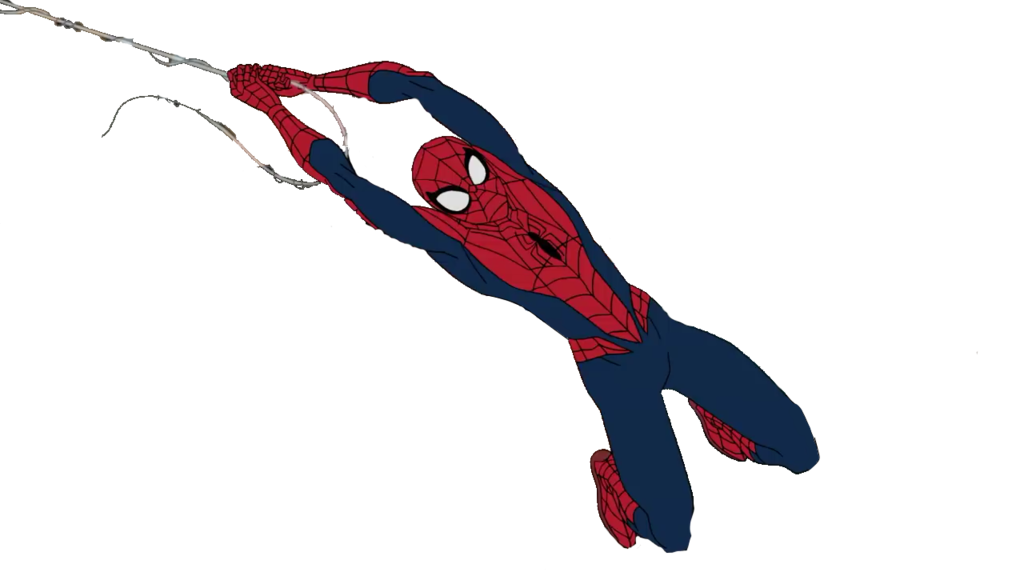 Web Fashion Spiderman Of Accessory Rope Quicksilver PNG Image