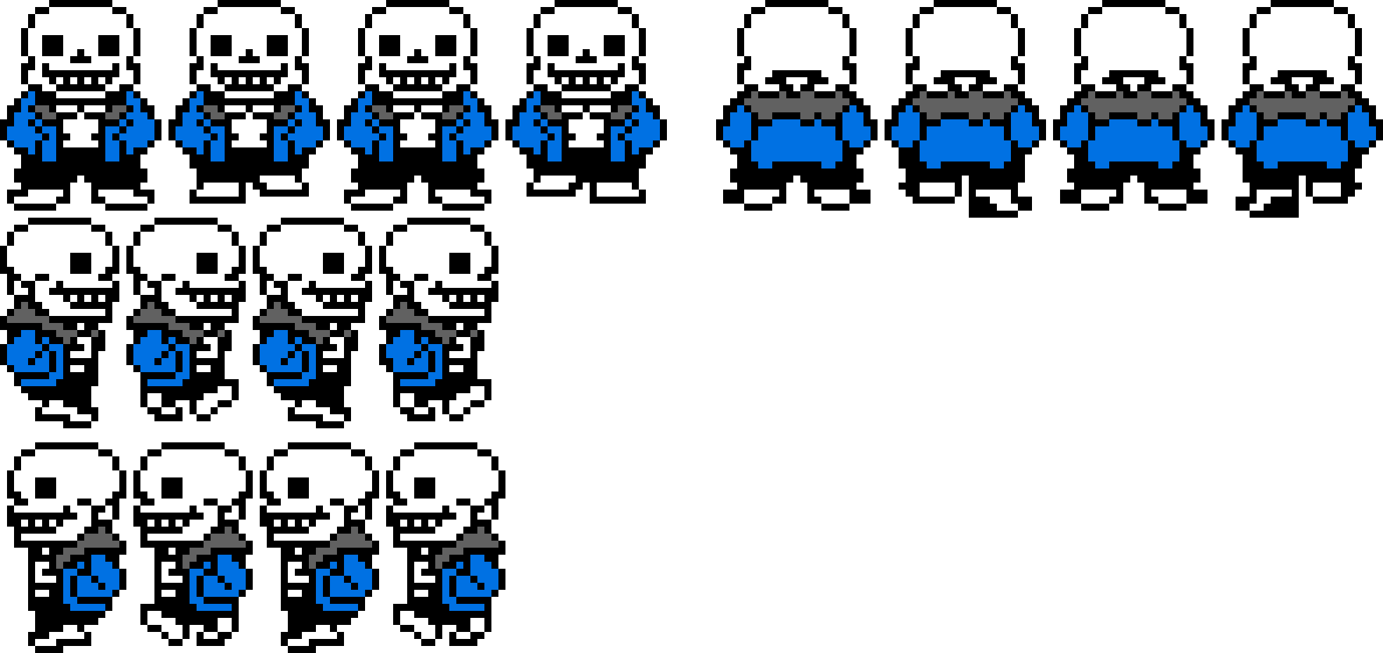 Blue Sans Undertale Text Comic Sprite PNG Image