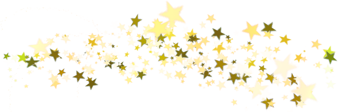 Christmas Gold Star Transparent Background PNG Image