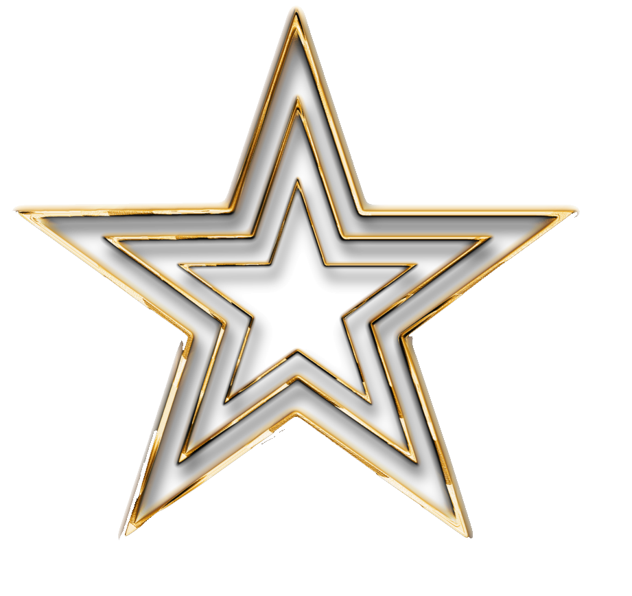 Download 3D Gold Star Transparent HQ PNG Image   FreePNGImg